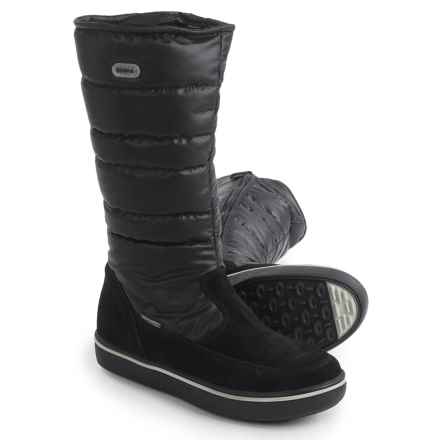 Tecnica Wally High-Zip TCY WS Boots - Waterproof, Insulated (For Women) in Black - Closeouts