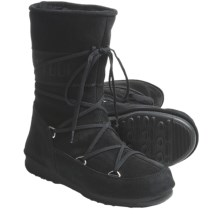 Tecnica W.E. Caviar Moon Boots - Insulated (For Women) in Black - Closeouts