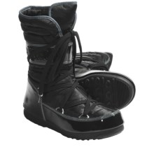 Tecnica W.E. Shorty Moon Boots - Insulated (For Women) in Black - Closeouts