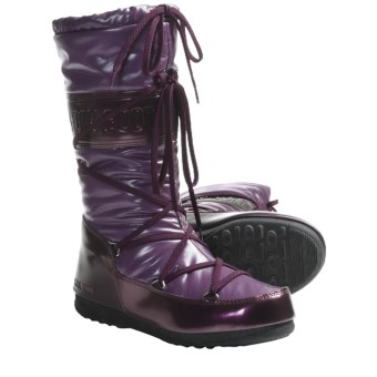 Tecnica W.E. Soft Moon Boots - Insulated (For Women) in Burgundy