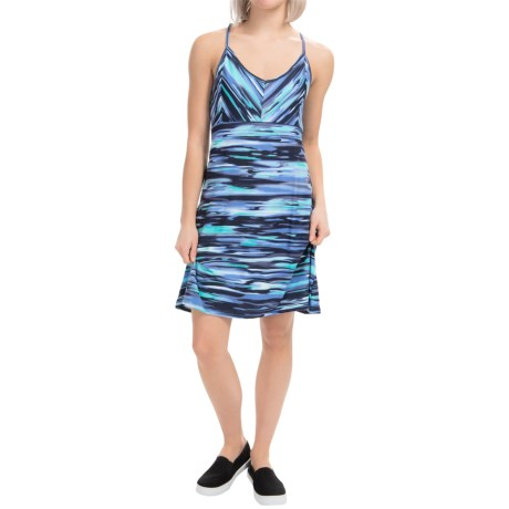 Tehama V Neck Slider Dress Racerback, Sleeveless (For Women)