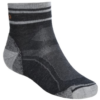 Teko tekoMERINO Light Running Socks - Organic Merino Wool, Minicrew (For Men) in Charcoal