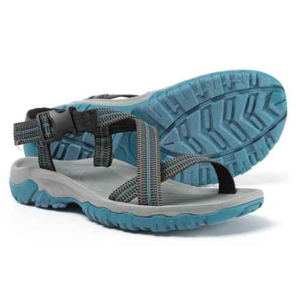 Telluride BB Sport Sandals (For Men) in Black/Blue - Closeouts