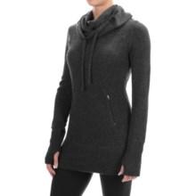 Telluride Cowl Neck Tunic Sweater (For Women) in Volcano Ash - Closeouts