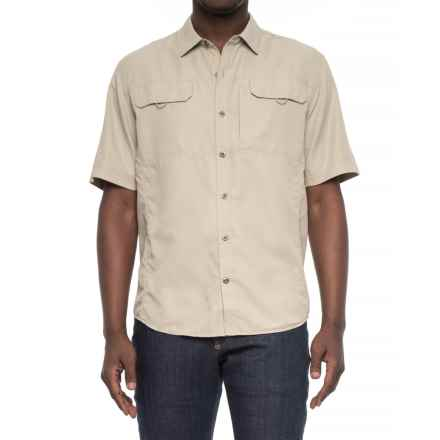 Telluride Dylan Shirt - UPF 30+, Short Sleeve (For Men) in True Khaki - Closeouts