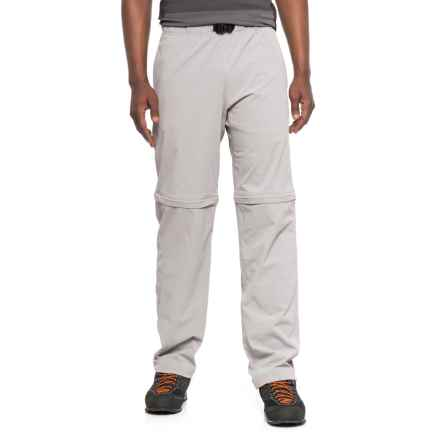 Telluride Mosquito-Repelling Boulder Convertible Pants - UPF 40+ (For Men) in Stainless Steel - Closeouts