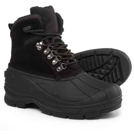 Telluride Peak Winter Boots - Waterproof, Insulated (For Men) in Black - Closeouts