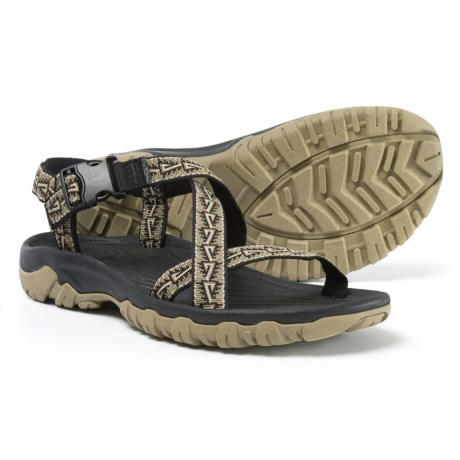Telluride Pyramid Sport Sandals (For Men) in Black/Olive