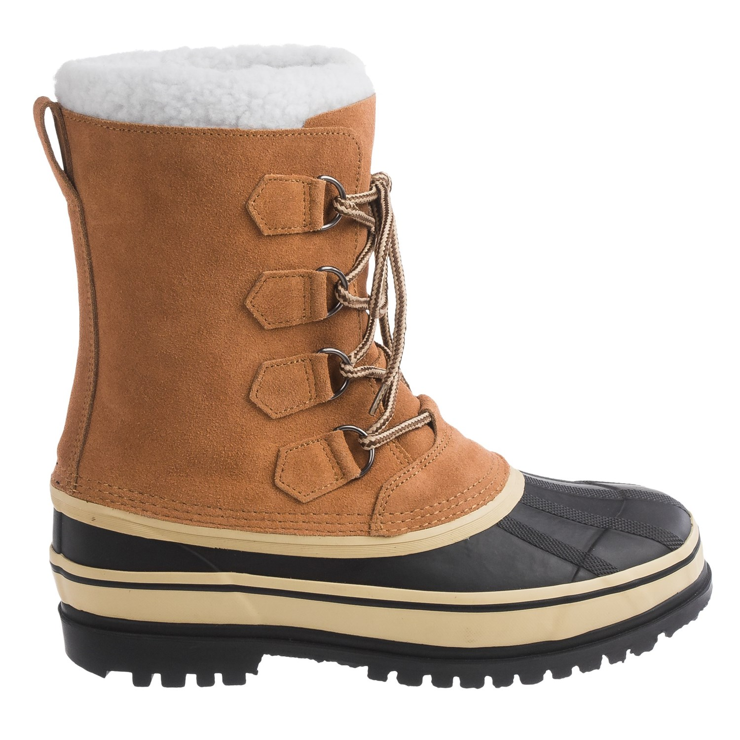 Telluride Suede Pac Boots (For Men) - Save 68%