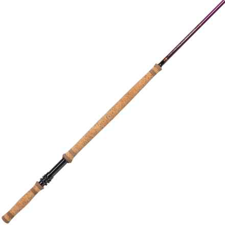 """Temple Fork Outfitters 12'6"""" Deer Creek Spey Rod with Case - 5-Piece, 5-6wt, Medium in See Photo - Closeouts"""