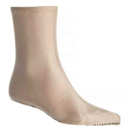 Temple Fork Outfitters Cam Sigler Sundeck Socks - Crew (For Men) in Sand - Closeouts