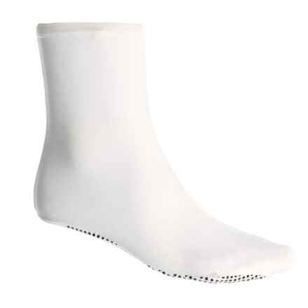 Temple Fork Outfitters Cam Sigler Sundeck Socks - Crew (For Men) in White - Closeouts