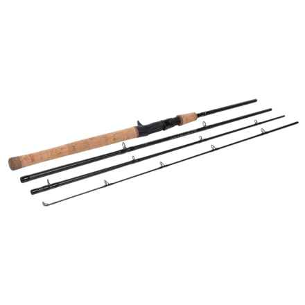 Temple Fork Outfitters GTS Travel Casting Rod - 4-Piece in See Photo - Closeouts