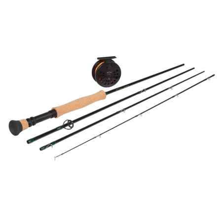 Temple Fork Outfitters NXT Series Fly Rod and Reel Combo - 9', 8-9wt, Spooled Line in See Photo - Closeouts