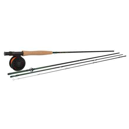 Temple Fork Outfitters NXT Series Fly Rod and Reel Combo - Spooled Line in See Photo - Closeouts