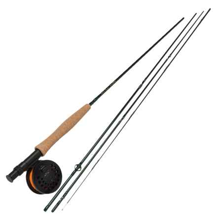 Temple Fork Outfitters NXT Series Fly Rod and Reel Combo - Spooled Line in Seee Photo - Closeouts