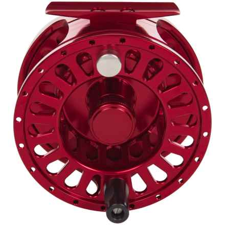 Temple Fork Outfitters TFO 425 Fly Reel with Spare Spool - 2-Piece Set in Red - Closeouts