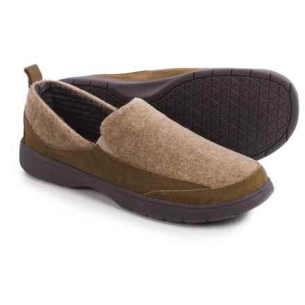 Tempur-Pedic Downdraft Slippers (For Men) in Tan - Closeouts