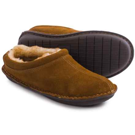 Tempur-Pedic Isobar Suede Clog Slippers - Suede (For Men) in Chestnut - Closeouts