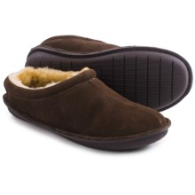 Tempur-Pedic Isobar Suede Clog Slippers - Suede (For Men) in Chocolate - Closeouts