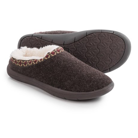 Tempur-Pedic Subarctic Wool Slippers (For Women)