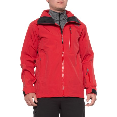 Tenacity Pro II Jacket - Waterproof (For Men) - RED (M )