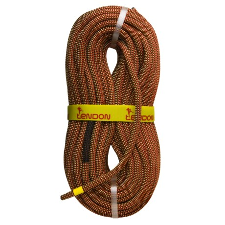 Tendon Ambition Dynamic Climbing Rope - Complete Shield, 60m, 10.4mm in Red/Yellow