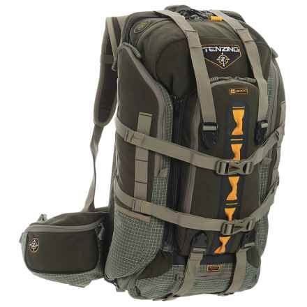 Tenzing 4000 Big Game 65L Hunting Pack - Internal Frame in Loden Green - Closeouts