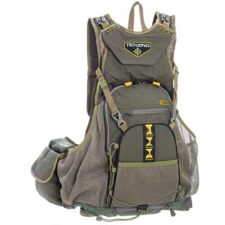 Tenzing BV15 Upland Bird Vest Backpack - XL/2XL in Olive Green - Closeouts