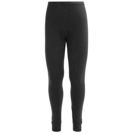 Terramar 2-Layer Authentic Thermal 2.0 Base Layer Bottoms - UPF 25+ (For Little and Big Kids) in Black - Closeouts