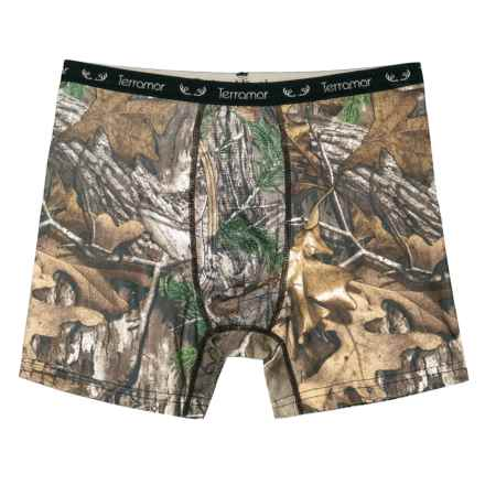 Terramar 2.0 Stalker 6 Boxer Briefs (For Boys) in Realtree Xtra - Closeouts