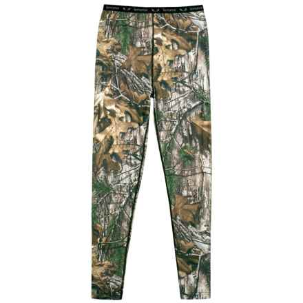 Terramar 2.0 Stalker Base Layer Pants - UPF 25 (For Little and Big Kids) in Realtree Xtra - Closeouts