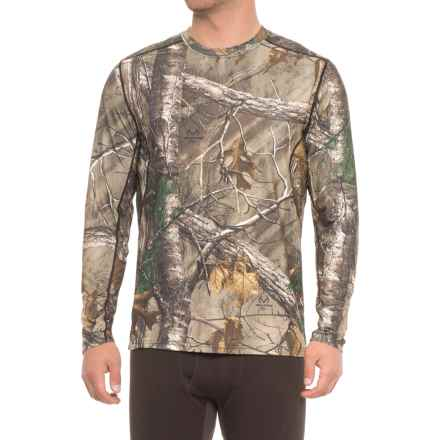 Terramar 2.0 Stalker Base Layer Top - Long Sleeve (For Men) in Realtree Xtra - Closeouts