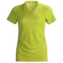 Terramar 2012 Helix T-Shirt - Short Sleeve (For Women) in Citron - Closeouts