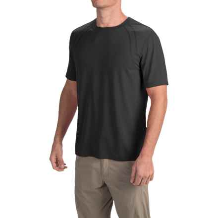 Terramar AirTouch Shirt - Short Sleeve (For Men) in Black - Closeouts
