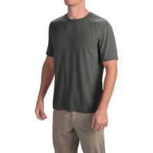 Terramar AirTouch Shirt - Short Sleeve (For Men) in Charcoal - Closeouts