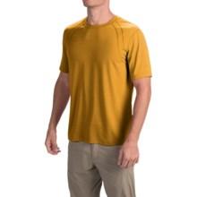 Terramar AirTouch Shirt - Short Sleeve (For Men) in Golden - Closeouts