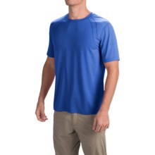Terramar AirTouch Shirt - Short Sleeve (For Men) in Sky Diver - Closeouts