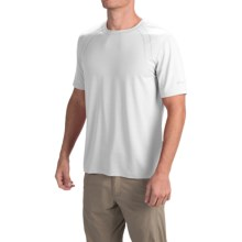 Terramar Airtouch Shirt - Short Sleeve (For Men) in White - Closeouts