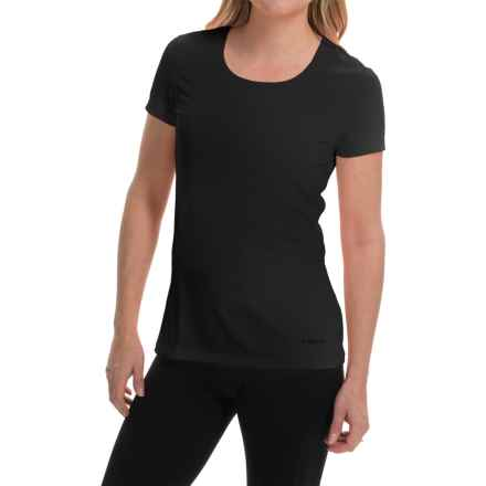Terramar AirTouch Shirt - UPF 25+, Short Sleeve (For Women) in Black - Closeouts