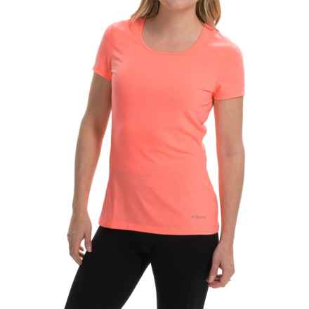 Terramar AirTouch Shirt - UPF 25+, Short Sleeve (For Women) in Coral - Closeouts