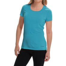 Terramar AirTouch Shirt - UPF 25+, Short Sleeve (For Women) in Turquoise - Closeouts