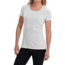 Terramar AirTouch Shirt - UPF 25+, Short Sleeve (For Women) in White - Closeouts