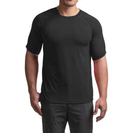 Terramar AirTouch T-Shirt - UPF 25+, Crew Neck, Short Sleeve (For Men) in Black - Closeouts