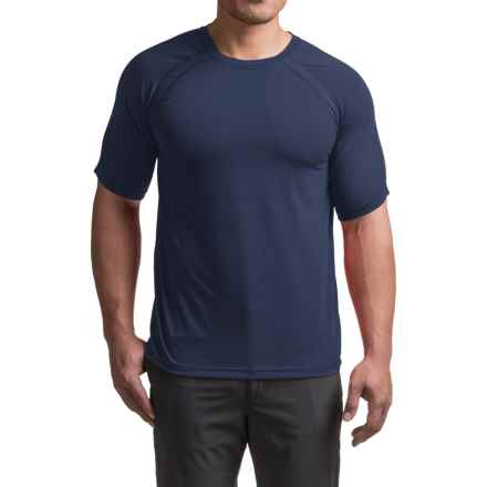 Terramar AirTouch T-Shirt - UPF 25+, Crew Neck, Short Sleeve (For Men) in Navy - Closeouts