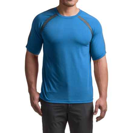 Terramar AirTouch T-Shirt - UPF 25+, Crew Neck, Short Sleeve (For Men) in Ocean Blue - Closeouts