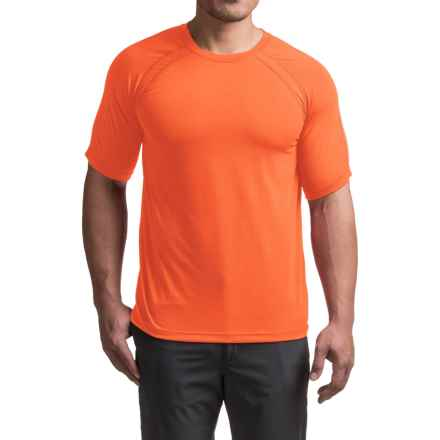 Terramar AirTouch T-Shirt - UPF 25+, Crew Neck, Short Sleeve (For Men) in Safety Orange - Closeouts