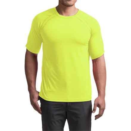 Terramar AirTouch T-Shirt - UPF 25+, Crew Neck, Short Sleeve (For Men) in Safety Yellow - Closeouts