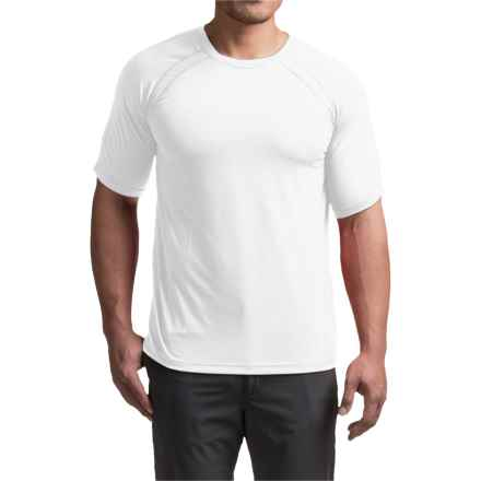 Terramar AirTouch T-Shirt - UPF 25+, Crew Neck, Short Sleeve (For Men) in White - Closeouts