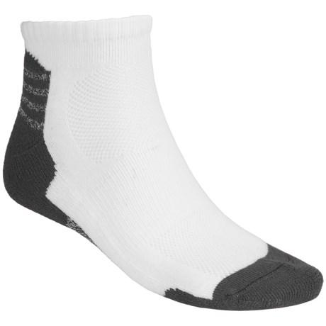 Terramar All Sports Socks - 2-Pack, CoolMax® (For Men and Women) in Black/Khaki